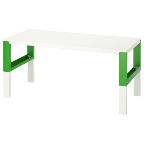 PAHL ПОЛЬ, Письменный стол, белый/зеленый, 128x58 см - 992.784.09