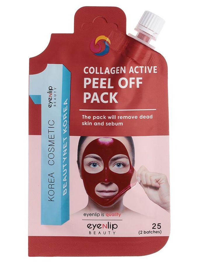 Маска-пленка для лица с коллагеном Collagen Active Peel Off Pack 25г