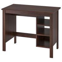 BRUSALI БРУСАЛИ, Письменный стол, коричневый, 90x52 см - 303.796.70