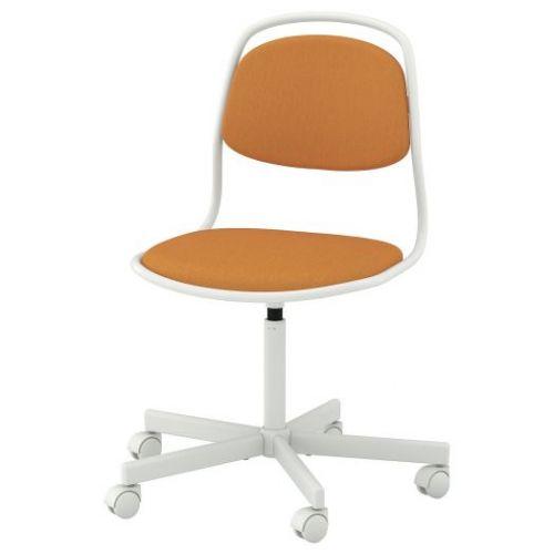 ORFJALL ОРФЬЕЛЛЬ, Рабочий стул, белый/Висле темно-желтый - 093.030.50