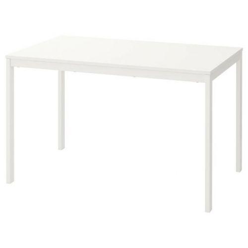 VANGSTA ВАНГСТА, Раздвижной стол, белый, 120/180x75 см - 503.615.65
