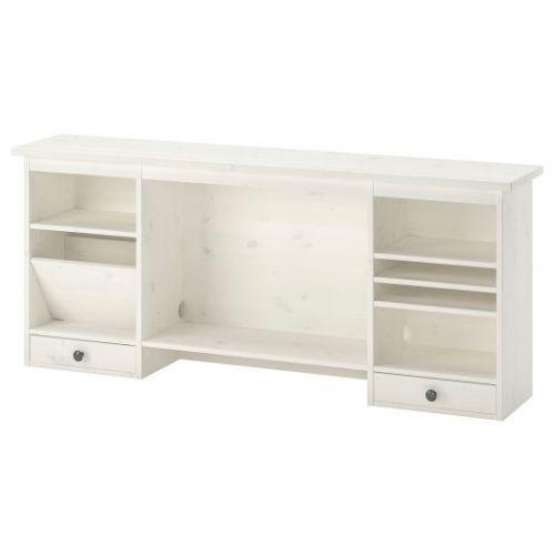 HEMNES ХЕМНЭС, Дополнительный модуль для стола, белая морилка, 152x63 см - 203.847.90