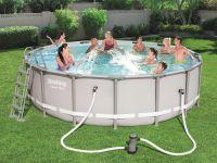 Каркасный бассейн Bestway 56451 (488х122) с картриджным фильтром