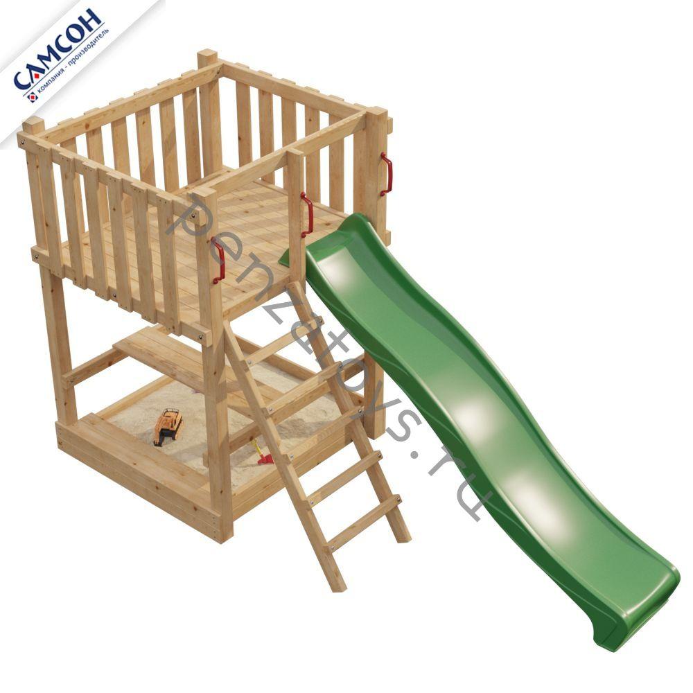 Игровая детская площадка Самсон Элемент-1