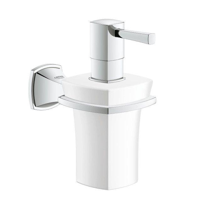 Дозатор для жидкого мыла Grohe Grandera 40627 ФОТО
