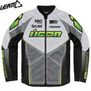 Куртка Icon Hooligan Ultrabolt, Серо-зеленая