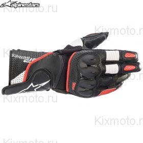 Перчатки Alpinestars SP-2 V3, Черно-красно-белые