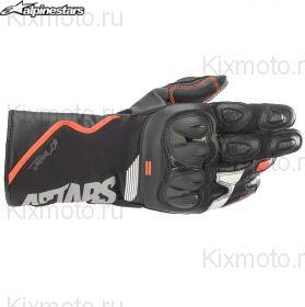 Перчатки Alpinestars SP-365 Drystar, Черно-красно-белые