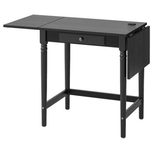 INGATORP ИНГАТОРП, Письменный стол, черный, 73x50 см - 003.619.35