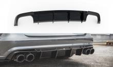 Диффузор агрессивный Audi A6 C7 S-Line и S6 рест