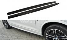 Накладки на пороги для BMW X4 F26 X3 F25 M-PACK