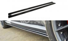 Накладки сплиттеры порогов на Audi RS6 C7