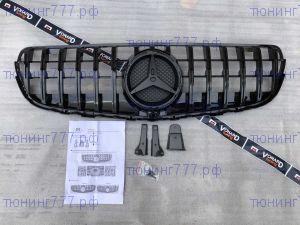 Решетка радиатора Mercedes GLC X253 15-19 AMG GT Panamericana