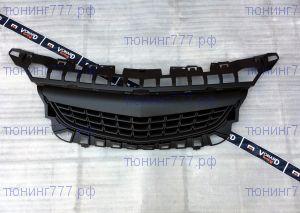 Решетка радиатора Opel Astra J 09-12 без эмблемы черная