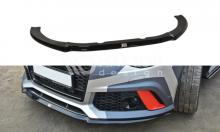 Сплиттер переднего бампера Audi RS6 C7 рубленный
