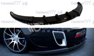 Сплиттер передний Opel Insignia OPC на ножках