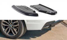 Сплиттеры элероны заднего бампера BMW X3 M-Pack рест.