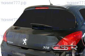 Спойлер на крышку багажника Peugeot 308