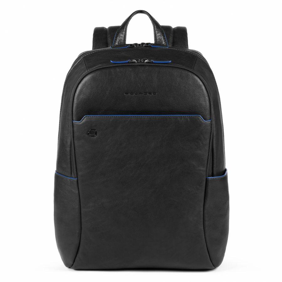 Рюкзак Piquadro CA4762B2S/N большой мужской кожаный черный