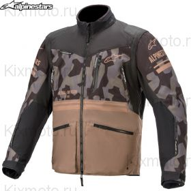 Куртка Alpinestars Venture R S21, Черно-бежевая