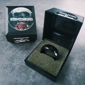 Кольцо чёрное (не магнит) Wizard Dark Ring non-magnetic