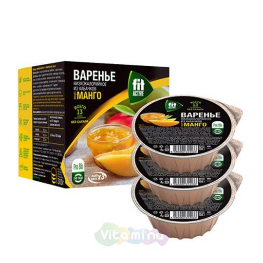 Fit Parad Варенье из кабачков со вкусом манго, 300гр.