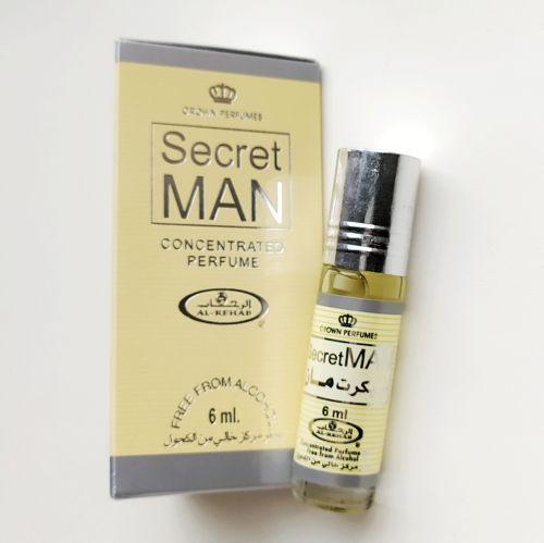 Арабские масляные духи Secret Man | Тайный человек | 6 мл | Al-Rehab | Мужской