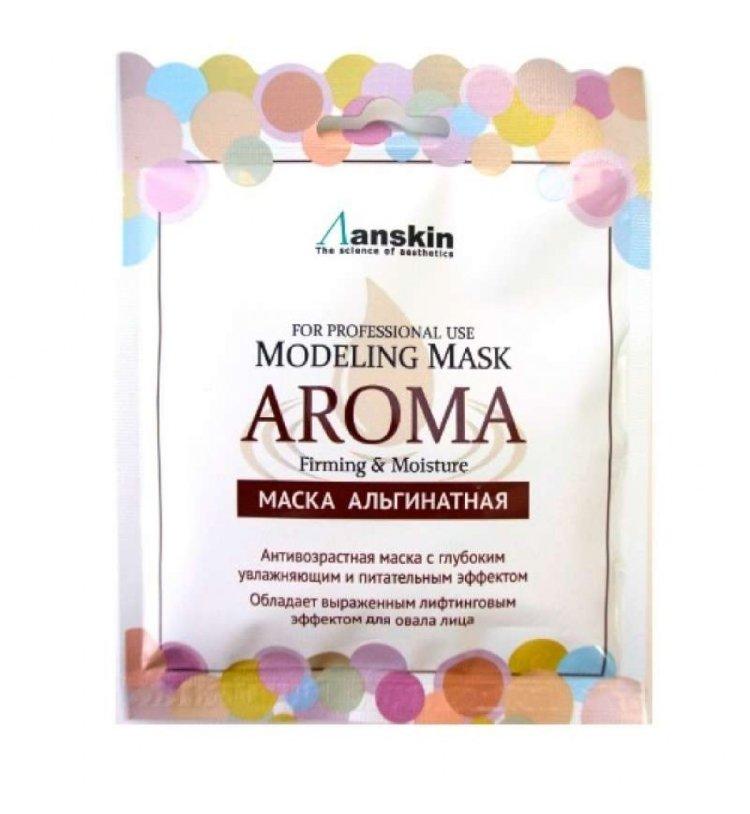 Антивозрастная альгинатная маска Anskin Modeling Mask Aroma Firming & Moisture, 25 гр