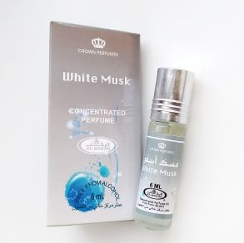 Арабские масляные духи White musk | Белый мускус | 6 мл | Al-Rehab | Унисекс