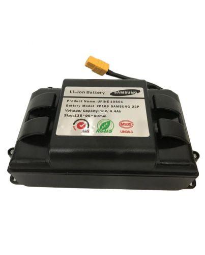 Аккумулятор для гироскутера 10S2P Li-ion 36V/4.4Ah Samsung в защитном черном коробе