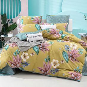 Комплект постельного белья Делюкс Сатин L353