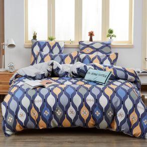 Комплект постельного белья Делюкс Сатин L357