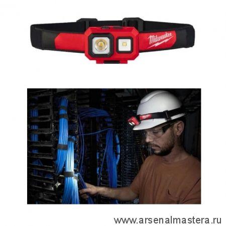Налобный фонарь на батарейках HL-SF MILWAUKEE 4933471388