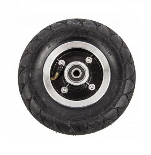 Заднее надувное колесо 8 дюймов (в сборе) для электросамоката Kugoo S4 200х50