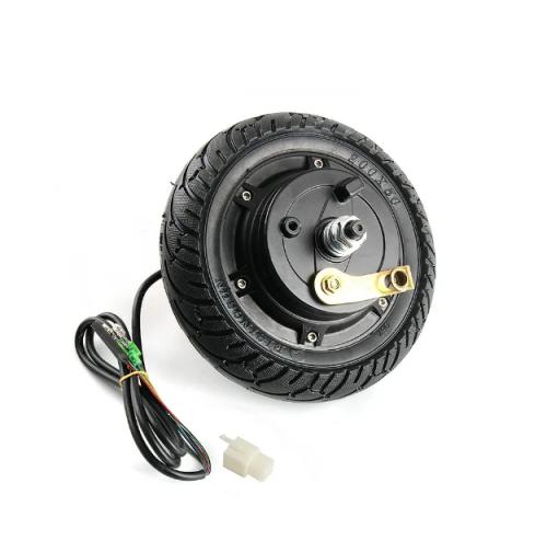 Мотор колесо 36 вольт 250 ватт скутер для дрифта дрифт карт с тормозным барабаном