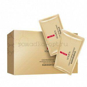 Оригинал  Омолаживающая восстанавливающая сыворотка для лица с био-золотом Venzen Gold Yeast Repair Essence. 2 ml