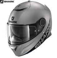 Шлем Shark Spartan Blank, Серебряный матовый