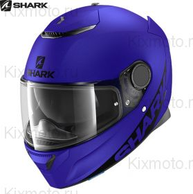 Шлем Shark Spartan Blank, Синий матовый