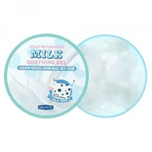 Гель для лица и тела универсальный увлажняющий Milatte Fashiony Milk Soothing Gel 300мл