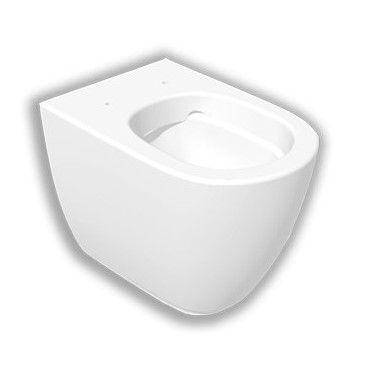 Приставной безободковый унитаз Hatria Fusion 54,5х35,5 ФОТО