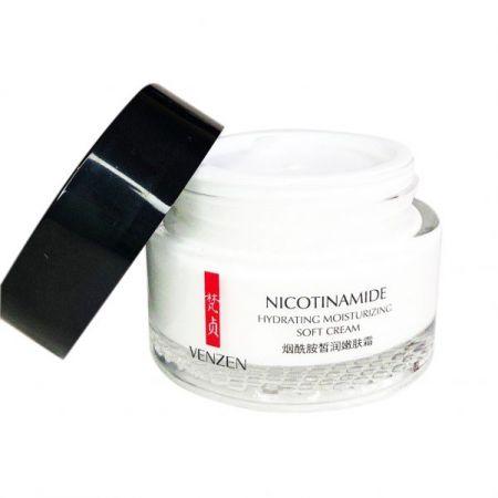 Крем для лица с никотинамидом Nicotinamide Hydrating Moisturizing Soft Cream 50 гр.VENZEN