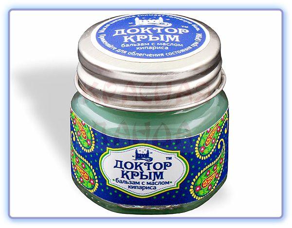 Бальзам с маслом кипариса Доктор Крым