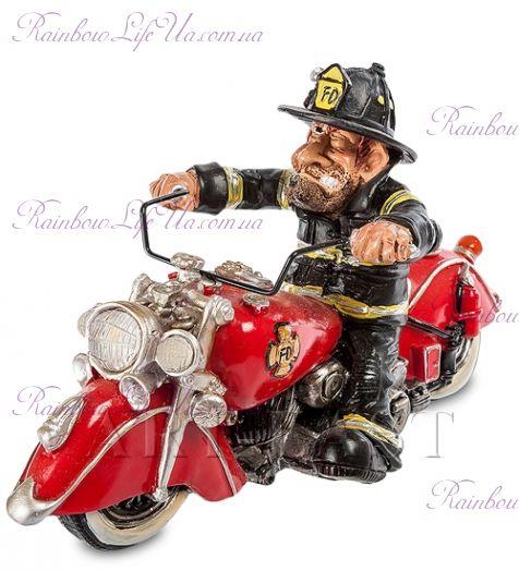 """Статуэтка пожарный байкер """"W.Stratford"""""""