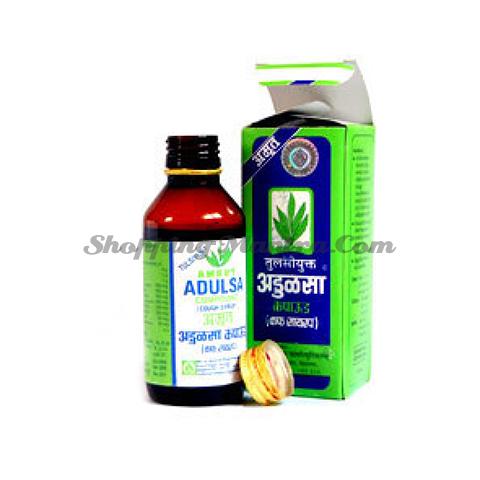 Сироп против кашля для всей семьи Адулса Амрут Фарма | Amrut Pharmaceuticals Adulsa Cough Syrup
