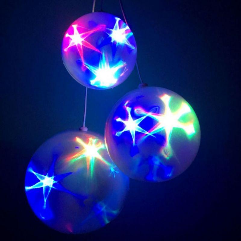Большой эксклюзивный шар с LED светодиодами, диаметр 15 см