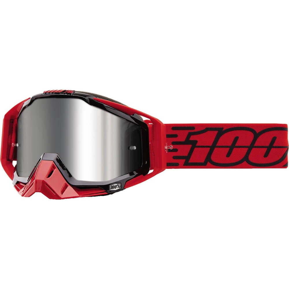 100% - Racecraft Plus Toro Silver Mirrored Lens, очки
