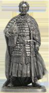 Русский князь Александр Ярославович Невский (1220-1263 гг.) олово