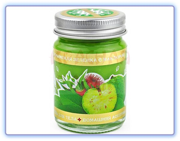 Гель для тела Крымская зеленка с маклюрой Доктор Крым