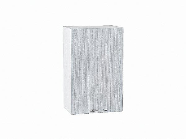 Шкаф верхний Валерия В450 (серый металлик дождь)