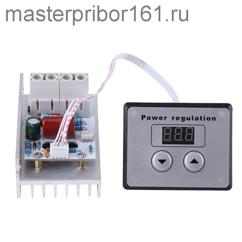10000 Вт Цифровой регулятор мощности